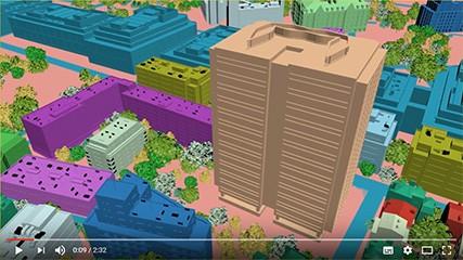 Etapes de production video 3d exemple maquette animee GEB