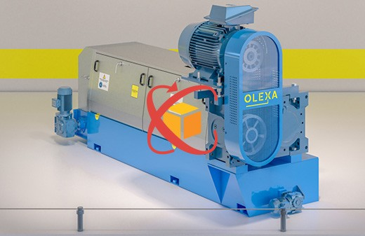 Modelisation 3D animation objet360 presse MBU260 olexa