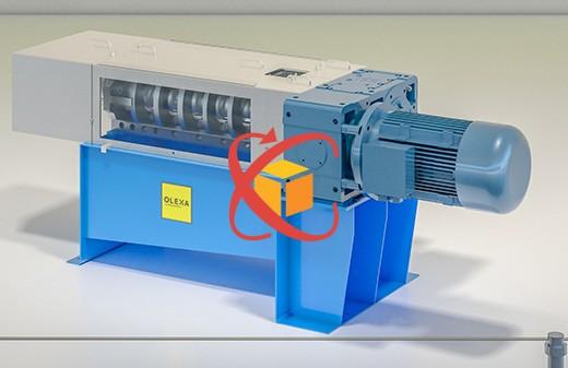 Modelisation 3D animation objet360 presse MBU40 olexa