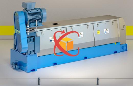 Modelisation 3D animation objet360 presse MBU530 olexa