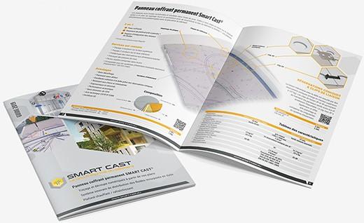 Realisation brochure catalogue 20pages smart cast