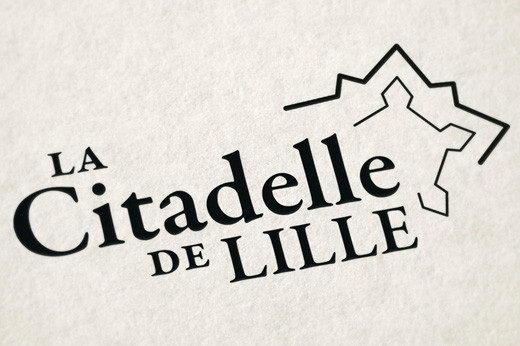 Creation logotype citadelle de lille