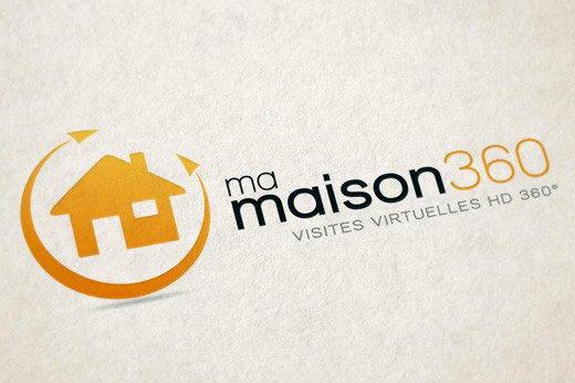 Creation logotype ma maison 360