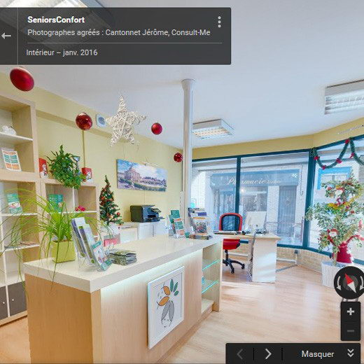 Photographe google street view seniorsconfort