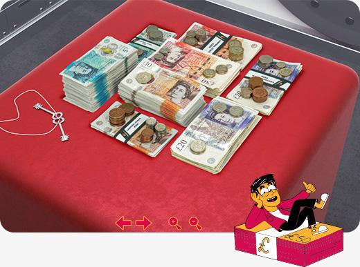 Realisation packshot 360 pile argent stack360 incrustation 3D