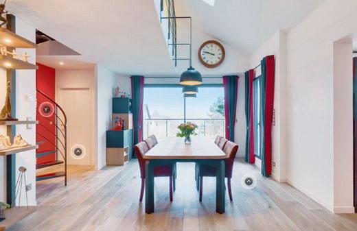 cre ta maison virtuel vue d intrieur en vue virtuelle. Black Bedroom Furniture Sets. Home Design Ideas