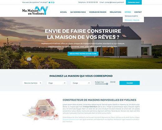 Ma maison constructeur ventana blog for Site constructeur