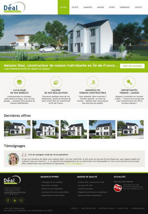 Realisation site maisons deal 2 0