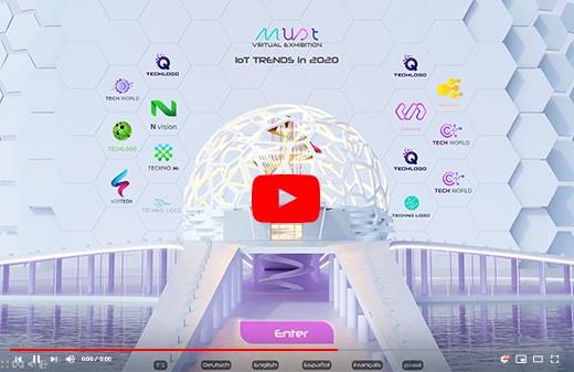 Realisation videos multilingues parc exposition virtuel 360