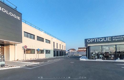 visite virtuelle 360 magasin optique