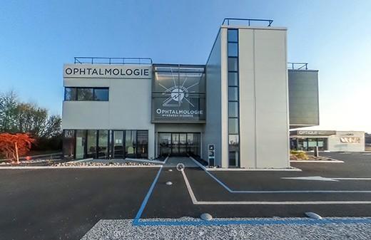 Realisation visite virtuelle 360 centre ophtalmologie
