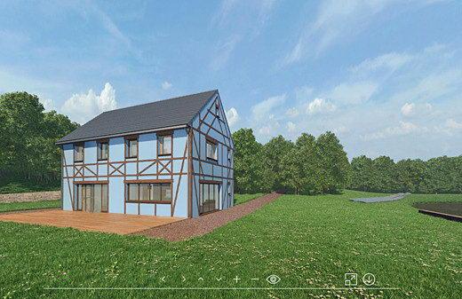 Realisation visite virtuelle 3D 360 maison et environnement