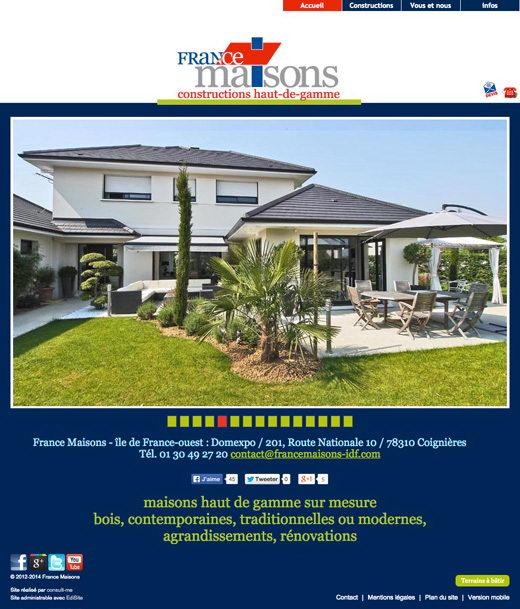 Site internet france maisons