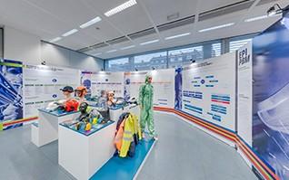 Realisation conception installation stand ministere belgique vignette