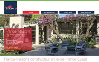 Realisation refonte site france maisons idf