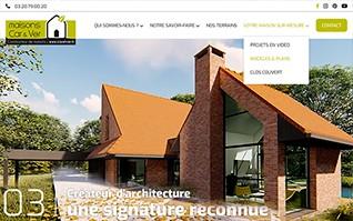 Realisation refonte site internet constructeur caretver vignette