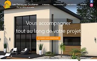 Realisation refonte site internet constructeur demeures occitanes vignette