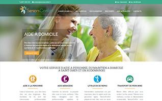Realisation refonte site internet seniors confort vignette