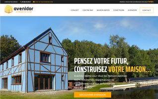 Realisation site constructeur maison avenidor vignette