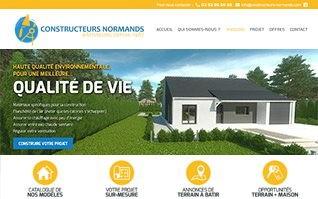 Realisation site constructeurs normands 2 0
