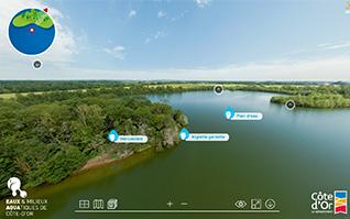 Realisation visite virtuelle 360 commentee reserve ecologique vignette