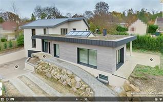 Realisation visite virtuelle 360 maison sur mesure yvelines tradition