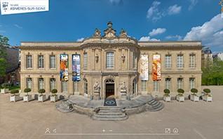 Realisation visite virtuelle exposition artistique chateau asnieres vignette
