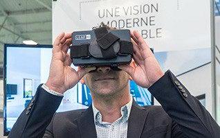 casque VR réalité virtuelle maison témoin