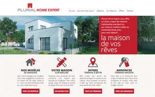 Conception site internet constructeur plurialhomeexpert
