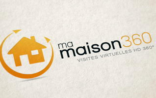 Creation logotype ma maison 360