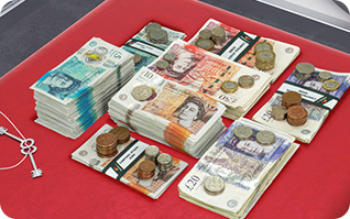 Vignette realisation packshot 360 pile argent stack360 incrustation 3D
