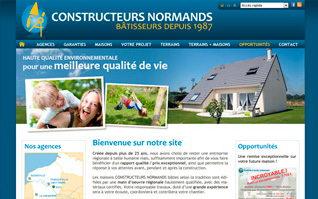 Vignette site internet constructeurs normands