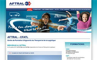 Site internet ecole aft aftral cfa tremblay
