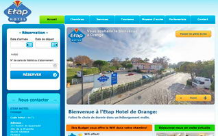 Site internet etap hotel ibis budget orange