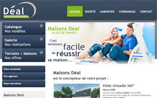 Site internet maisons deal