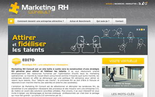 Site internet marketing rh