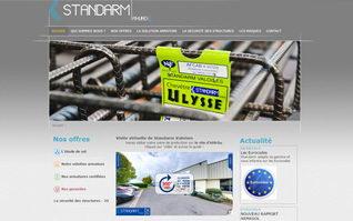 Site internet standarm