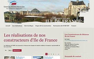 Site internet umf union maison francaises idf