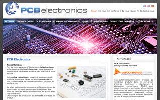 Site vitrine pcb electronics