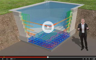 Video armatures piscine