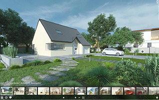 Visite virtuelle 3d maison ecc