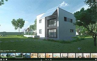 Visite virtuelle 3d maison gitec
