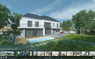 Visite virtuelle 3d maison yvelines traditions