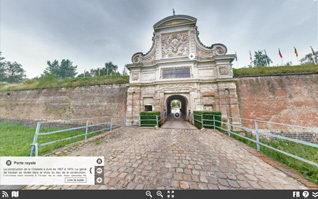Visite virtuelle citadelle de lille