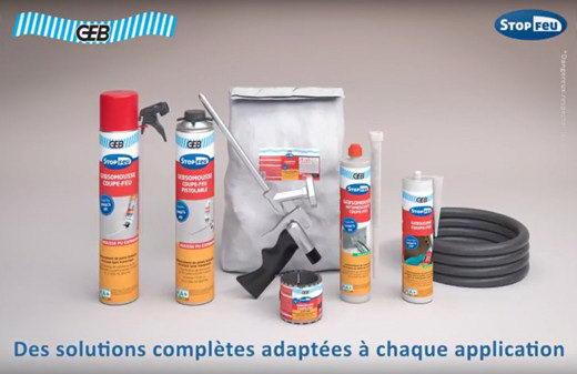 Video mise oeuvre gamme produits industriels geb