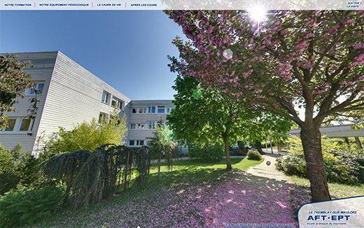 Visite virtuelle 360 ecole aft aftral ept tourisme tremblay