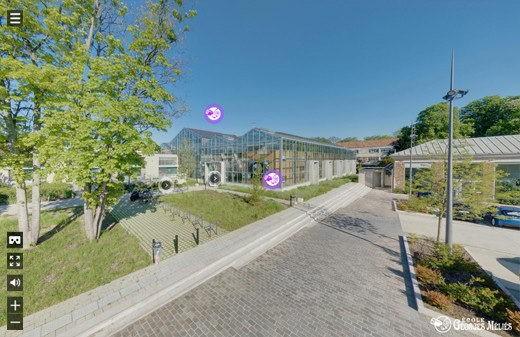 Visite virtuelle 360 ecole georges melies cinema animation