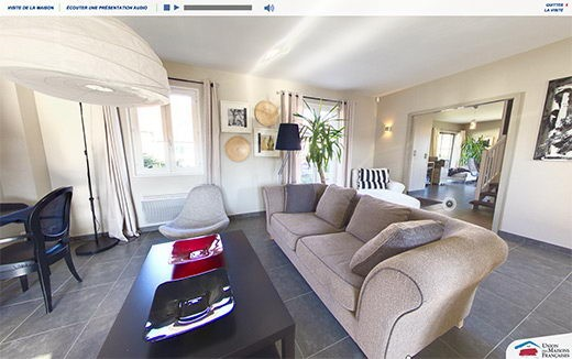Visite virtuelle 360 maison umf union francaise paris