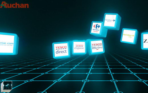 Visite virtuelle auchan innovation
