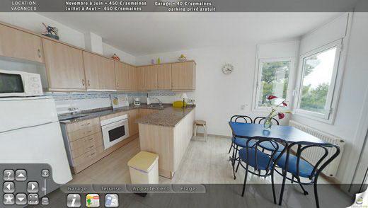 Visite virtuelle et portail de r servation d 39 un appartement en espagne - Visite d un appartement ...
